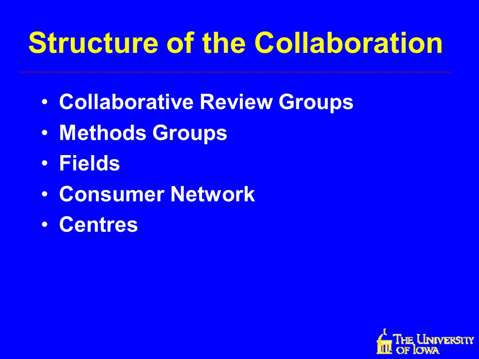 Structure of the Collaboration