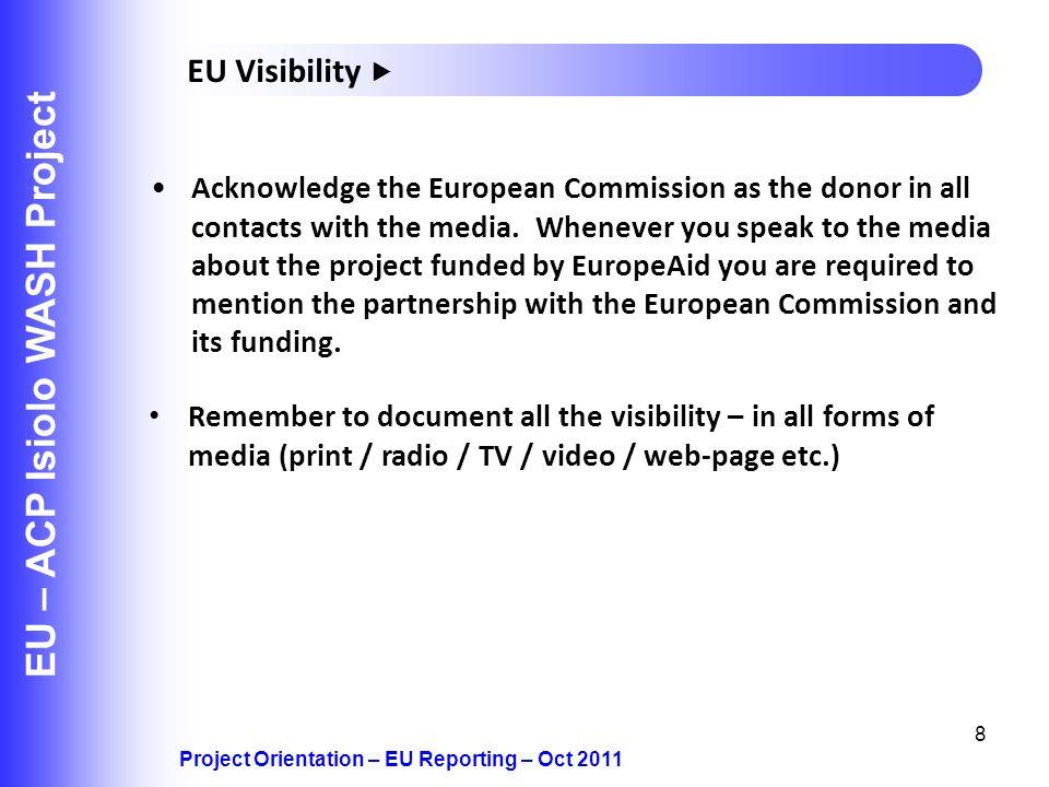 EU – ACP Isiolo WASH Project
