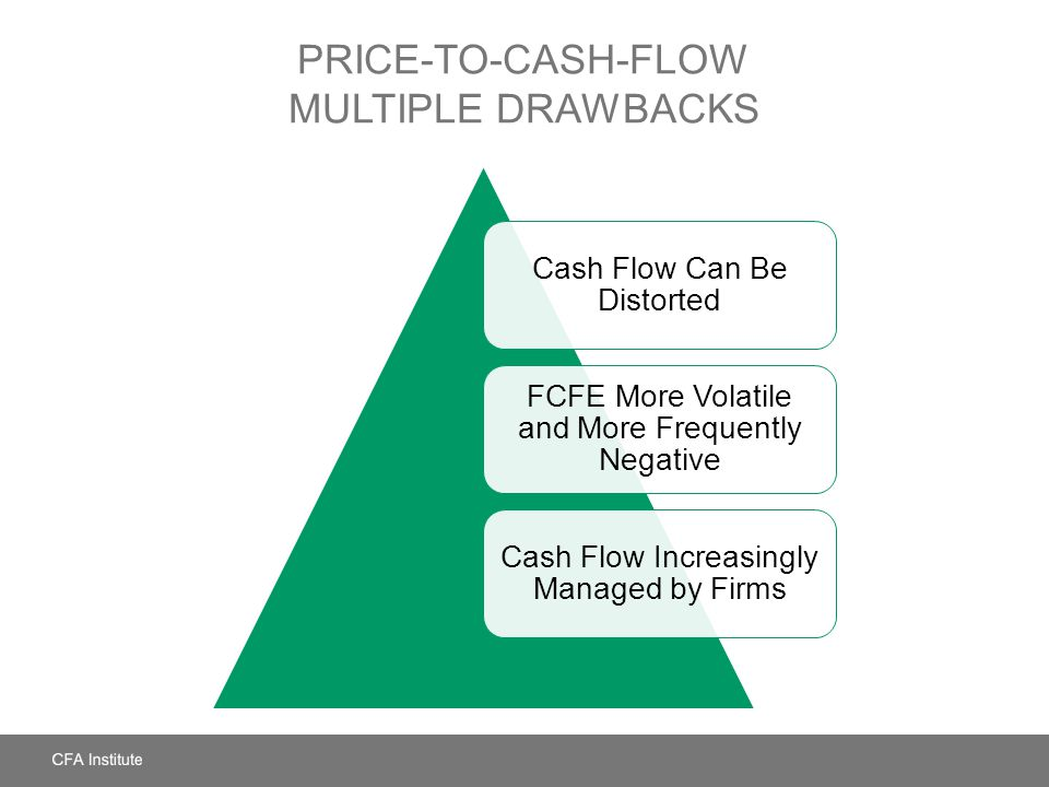 Price-to-Cash-Flow Multiple Drawbacks