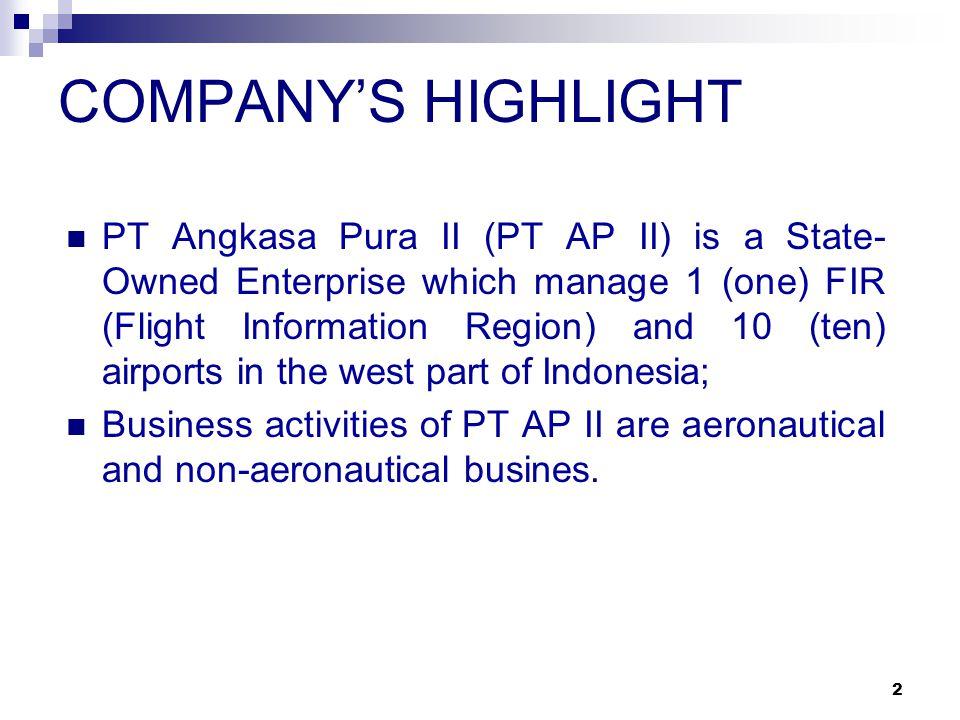 COMPANY'S HIGHLIGHT
