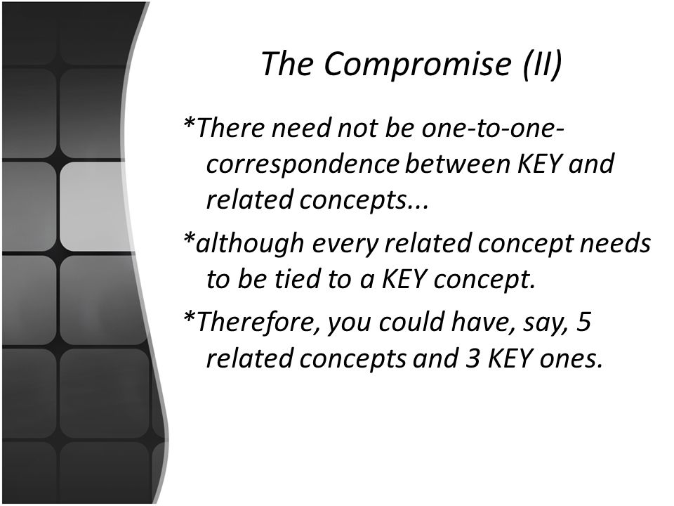 The Compromise (II)