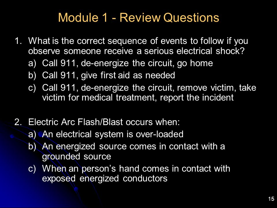 Module 1 - Review Questions