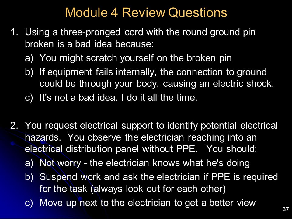 Module 4 Review Questions