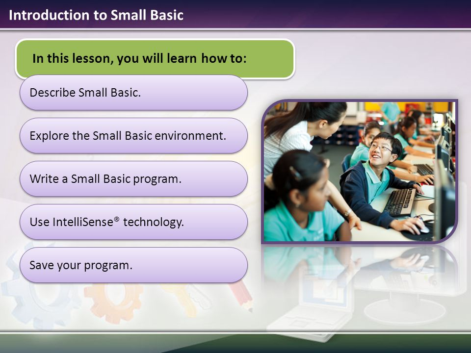 Introduction to Small Basic