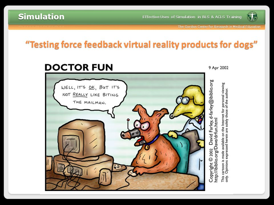 Testing force feedback virtual reality products for dogs