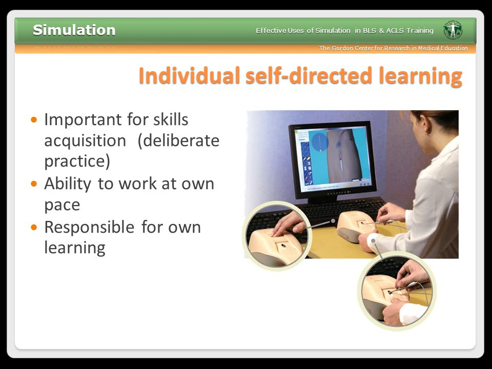 Individual self-directed learning