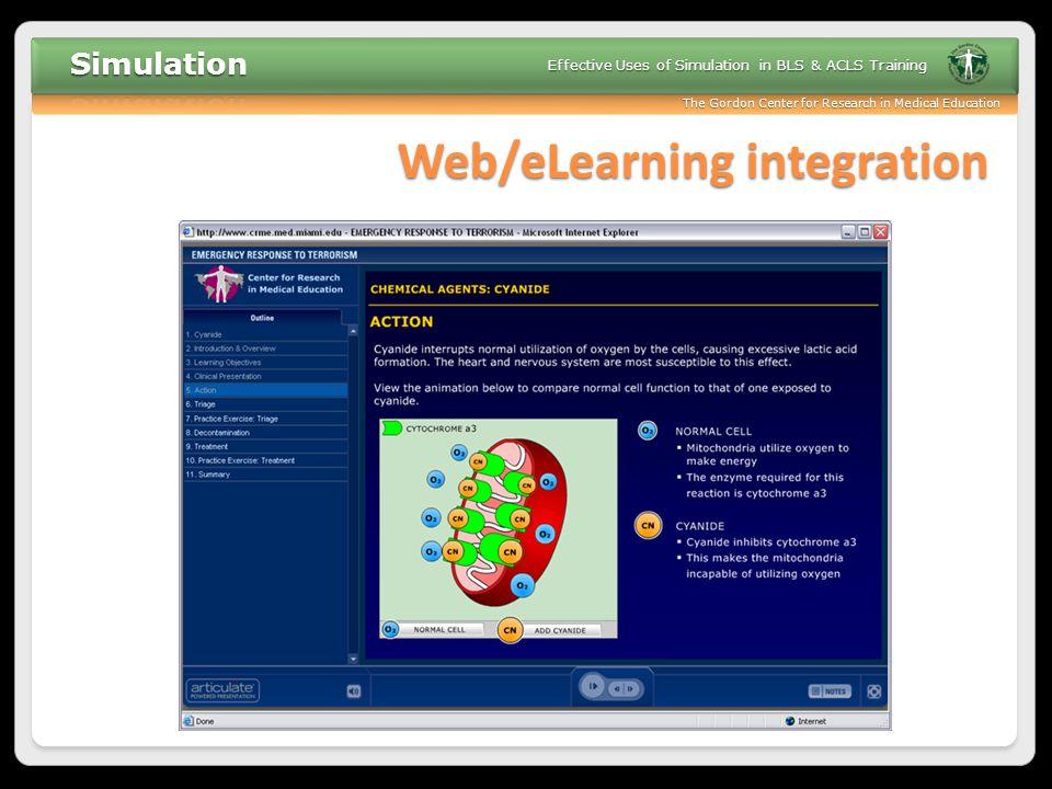 Web/eLearning integration