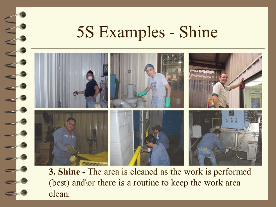 5S Examples - Shine 3.