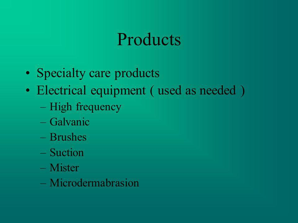 Products Specialty care products