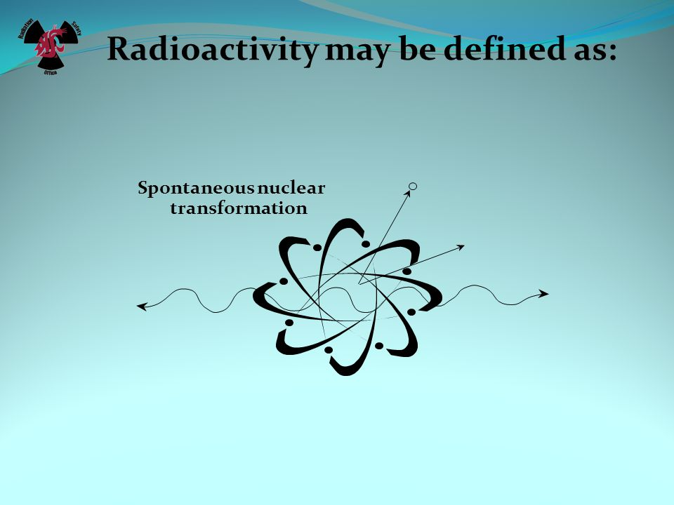 Radioactivity may be defined as: