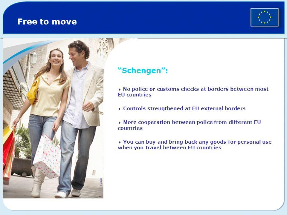 Free to move Schengen :