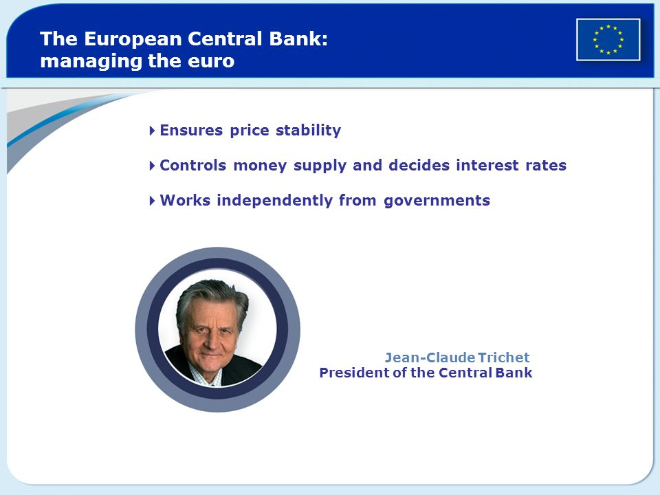The European Central Bank: managing the euro