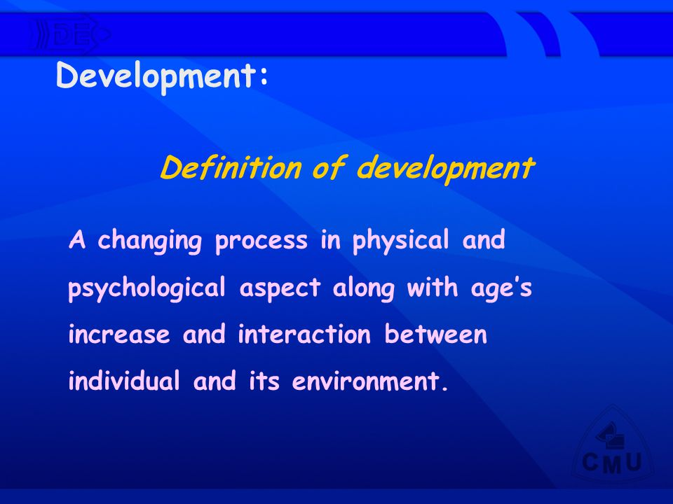 Definition of development