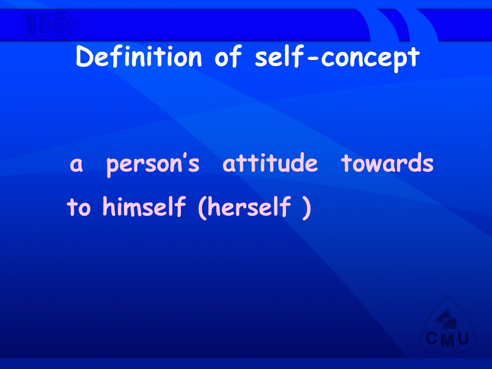 Definition of self-concept