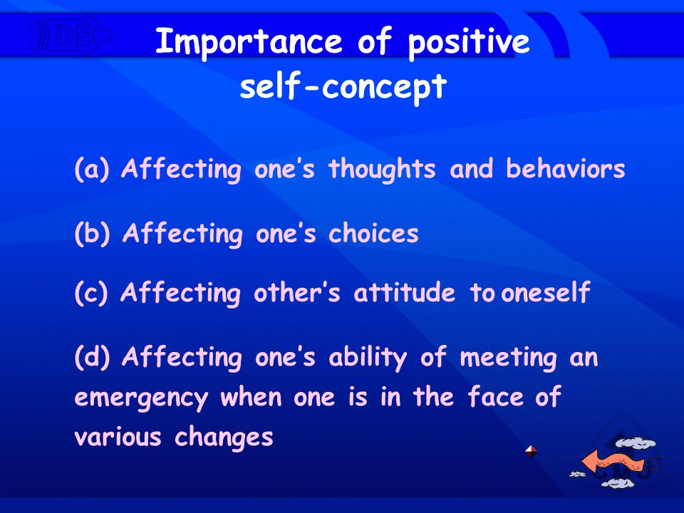 Importance of positive