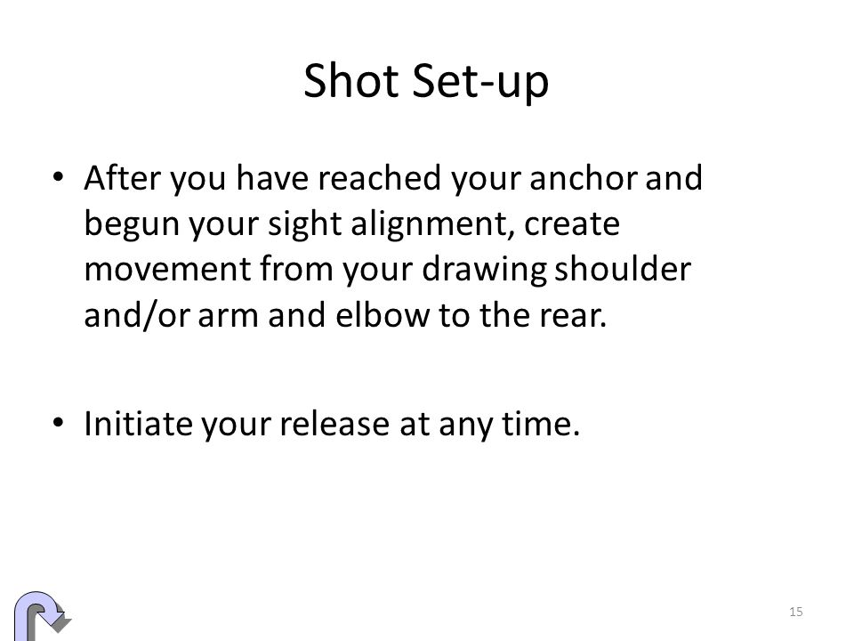 Shot Set-up
