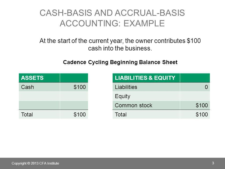accrual basis and cash basis accounting There are potential timing differences in recognizing revenues and expenses between accrual basis and cash basis accounting four types of timing differences a.