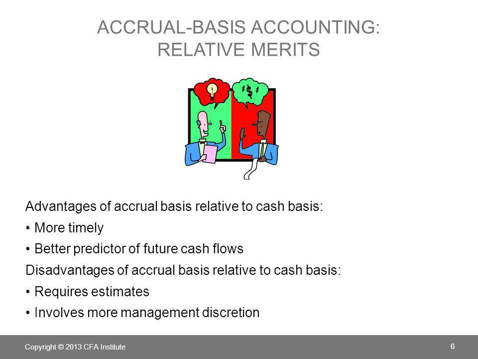accrual-basis accounting: relative merits