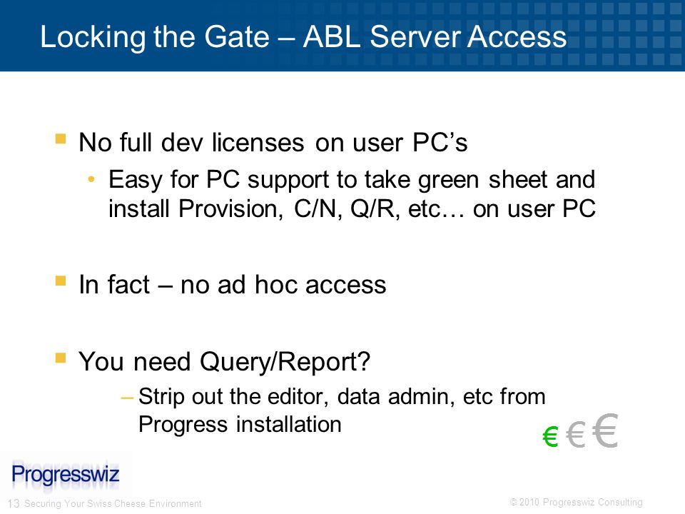 Locking the Gate – ABL Server Access