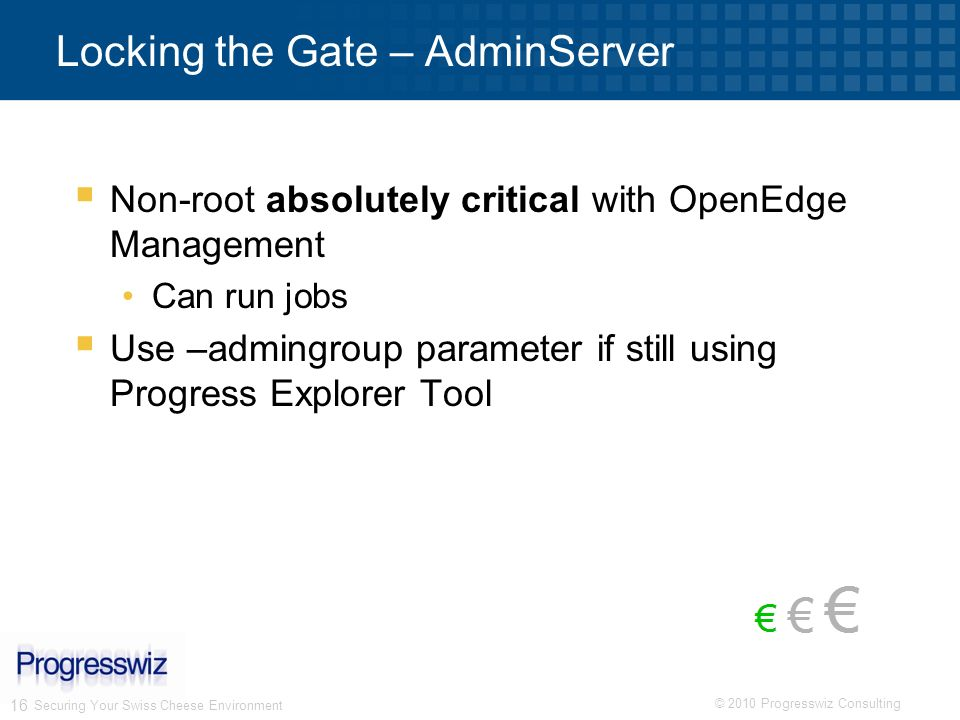 Locking the Gate – AdminServer