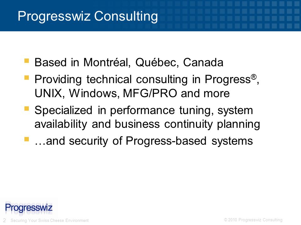Progresswiz Consulting