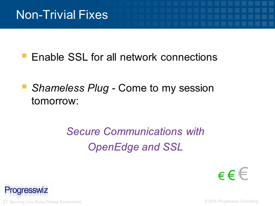 Secure Communications with