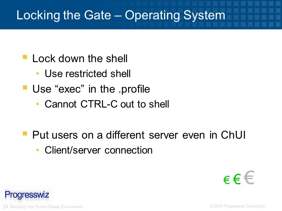 Locking the Gate – Operating System
