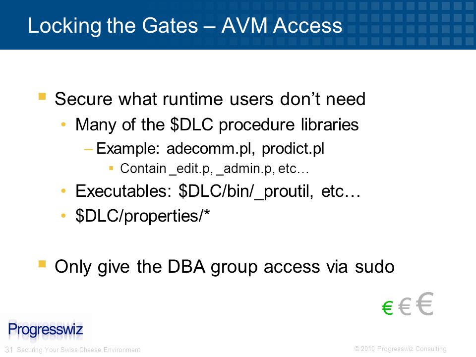 Locking the Gates – AVM Access
