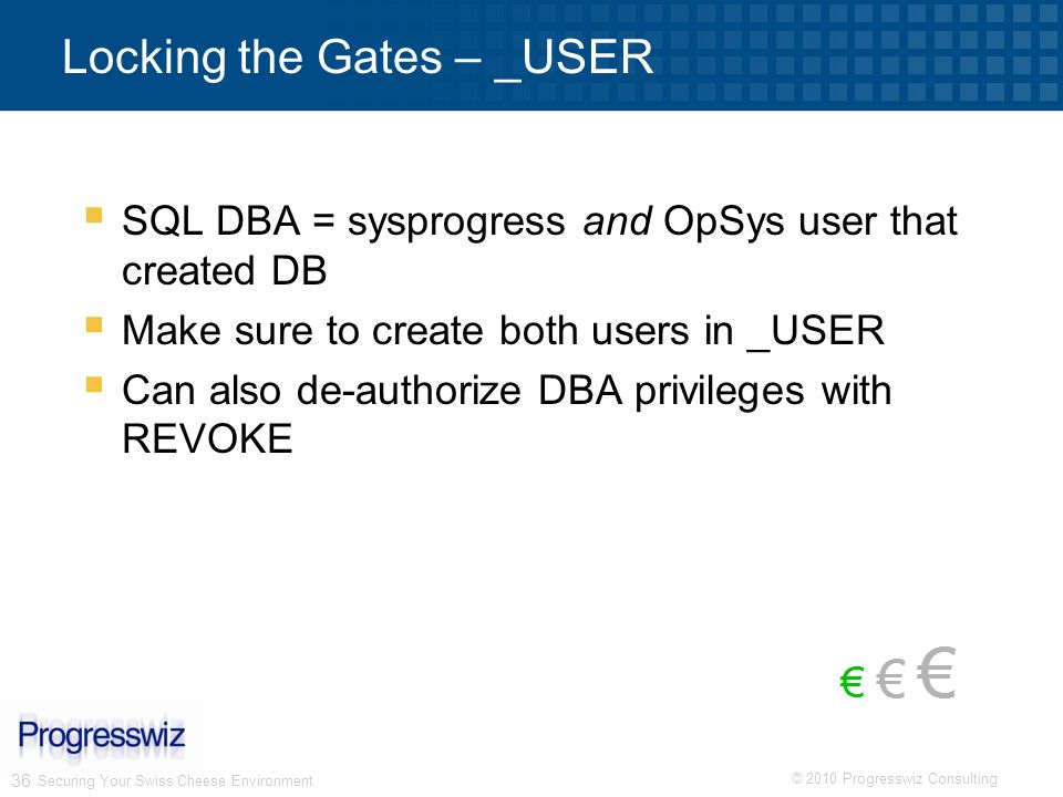 Locking the Gates – _USER