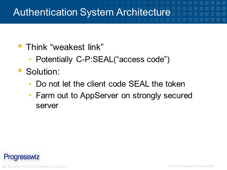 Authentication System Architecture