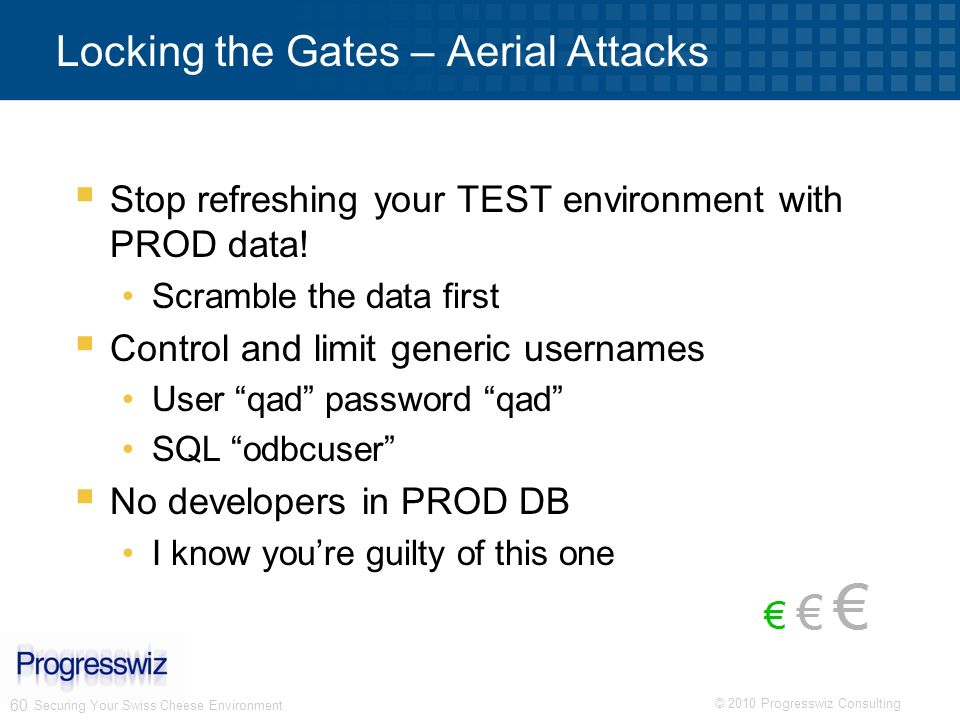 Locking the Gates – Aerial Attacks