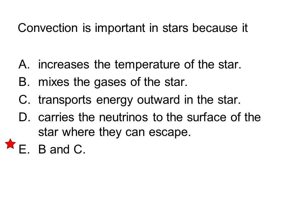 Convection is important in stars because it