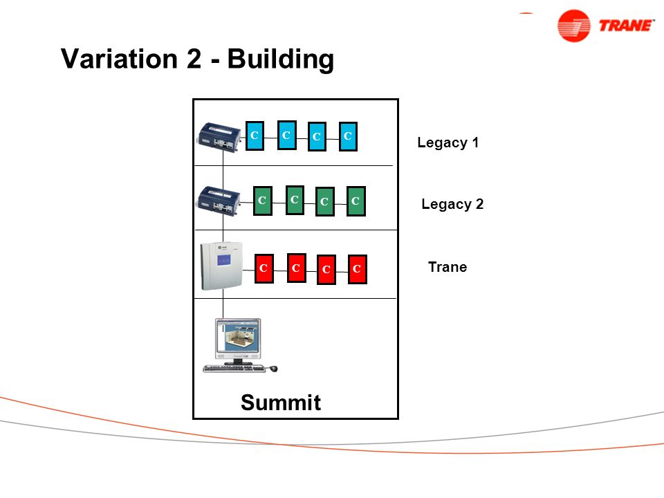 Variation 2 - Building C Summit Legacy 1 Legacy 2 Trane