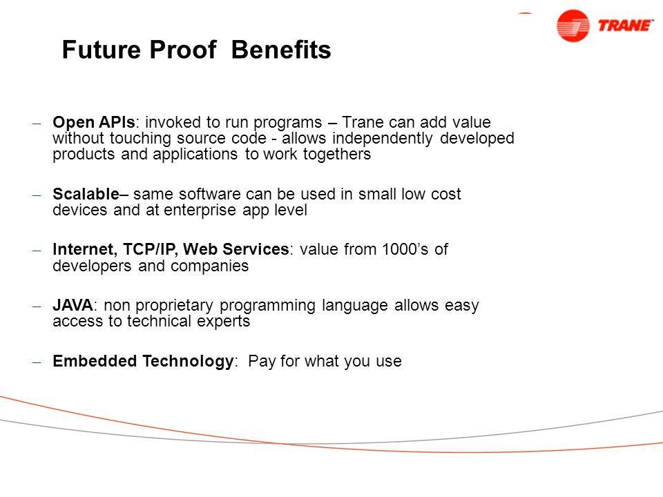 Future Proof Benefits
