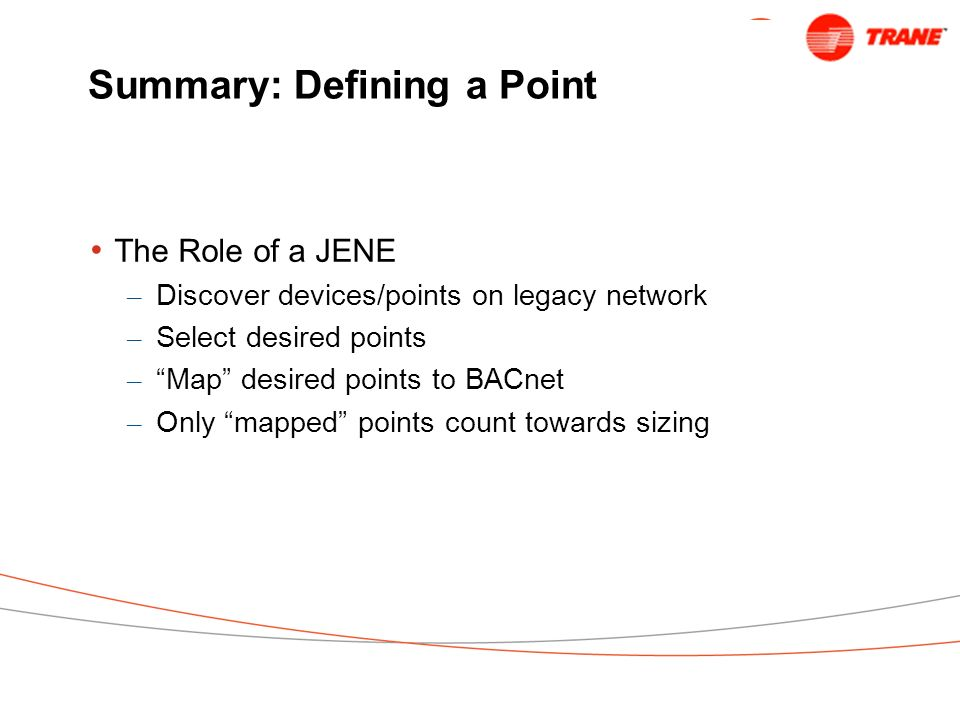 Summary: Defining a Point
