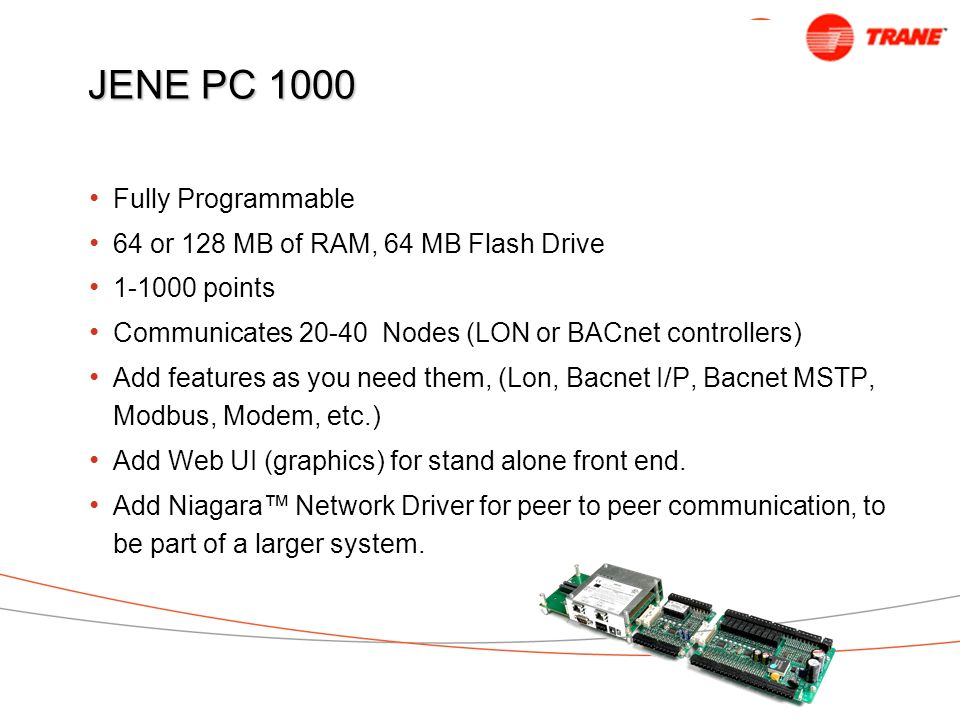JENE PC 1000 Fully Programmable 64 or 128 MB of RAM, 64 MB Flash Drive