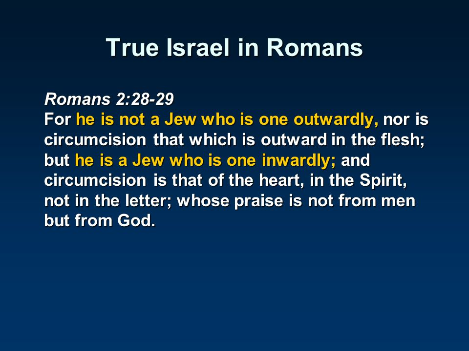 True Israel in Romans