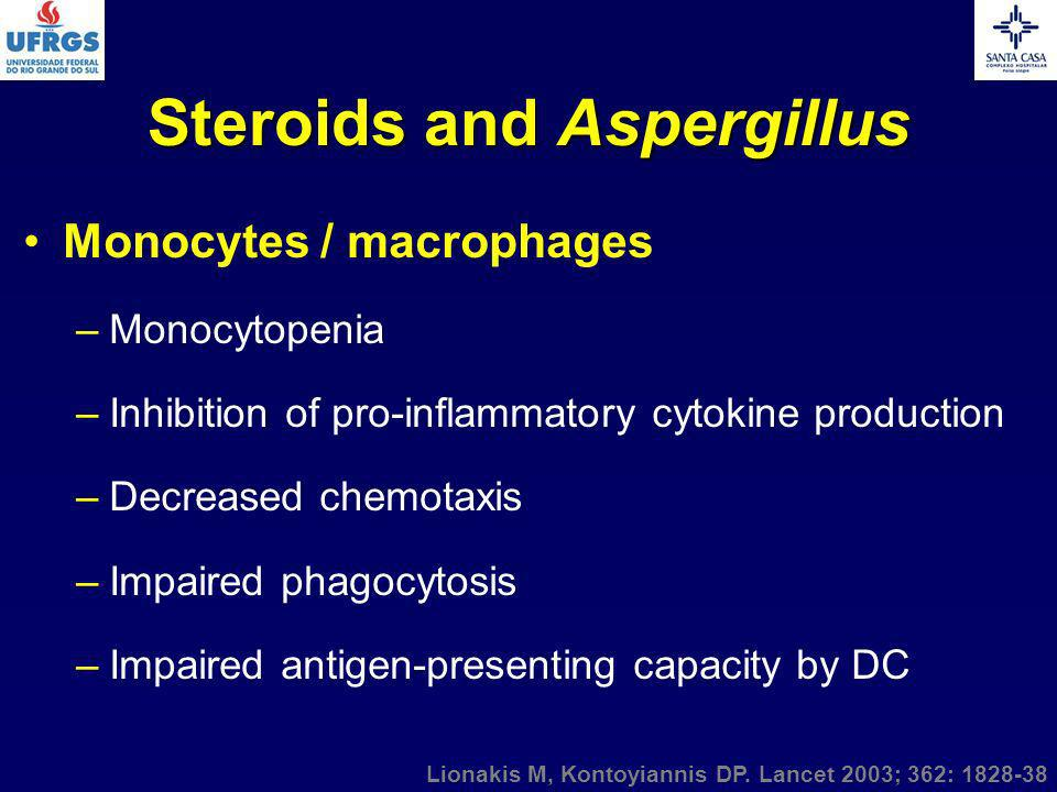 Steroids and Aspergillus
