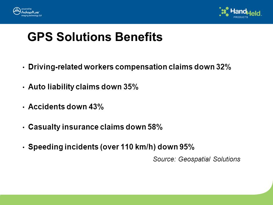 GPS Solutions Benefits
