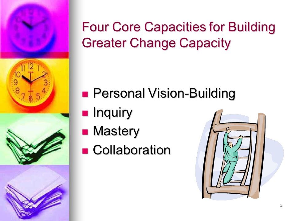 Four Core Capacities for Building Greater Change Capacity