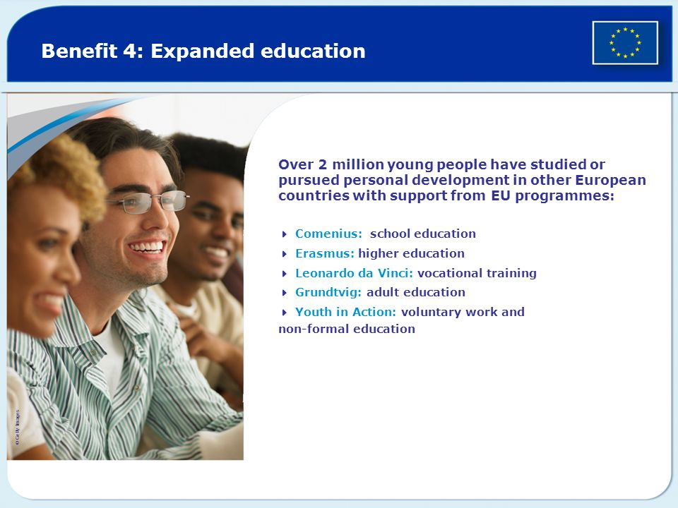 Benefit 4: Expanded education