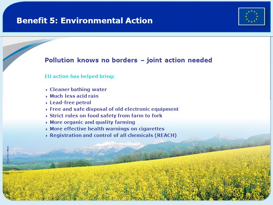 Benefit 5: Environmental Action