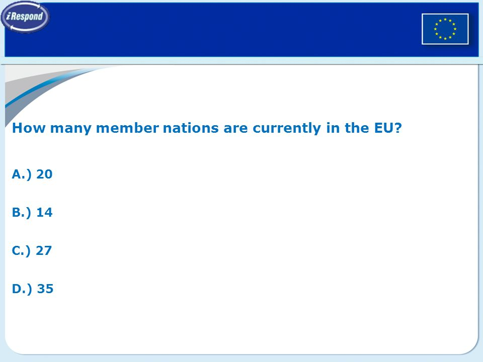 How many member nations are currently in the EU