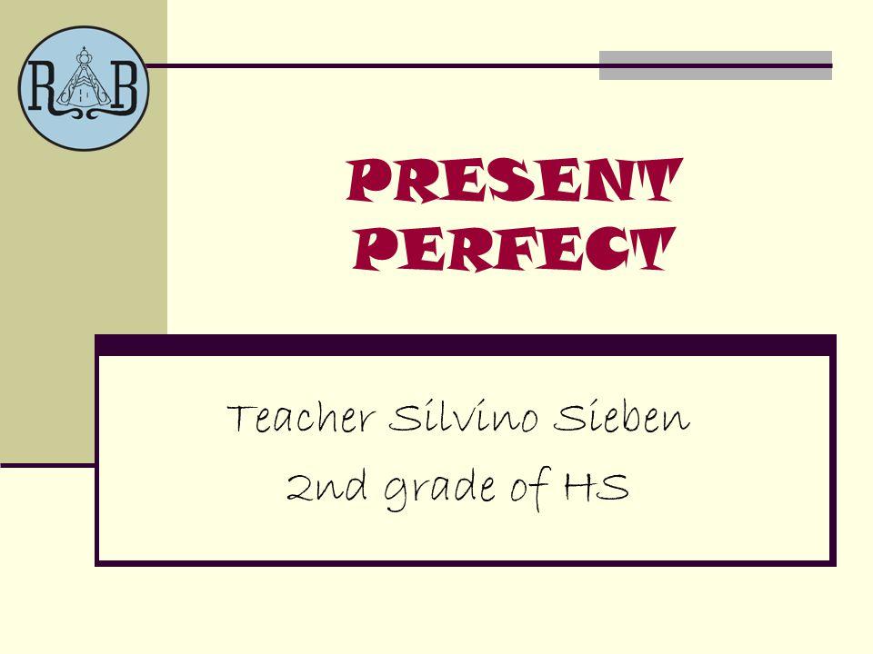 Teacher Silvino Sieben 2nd grade of HS