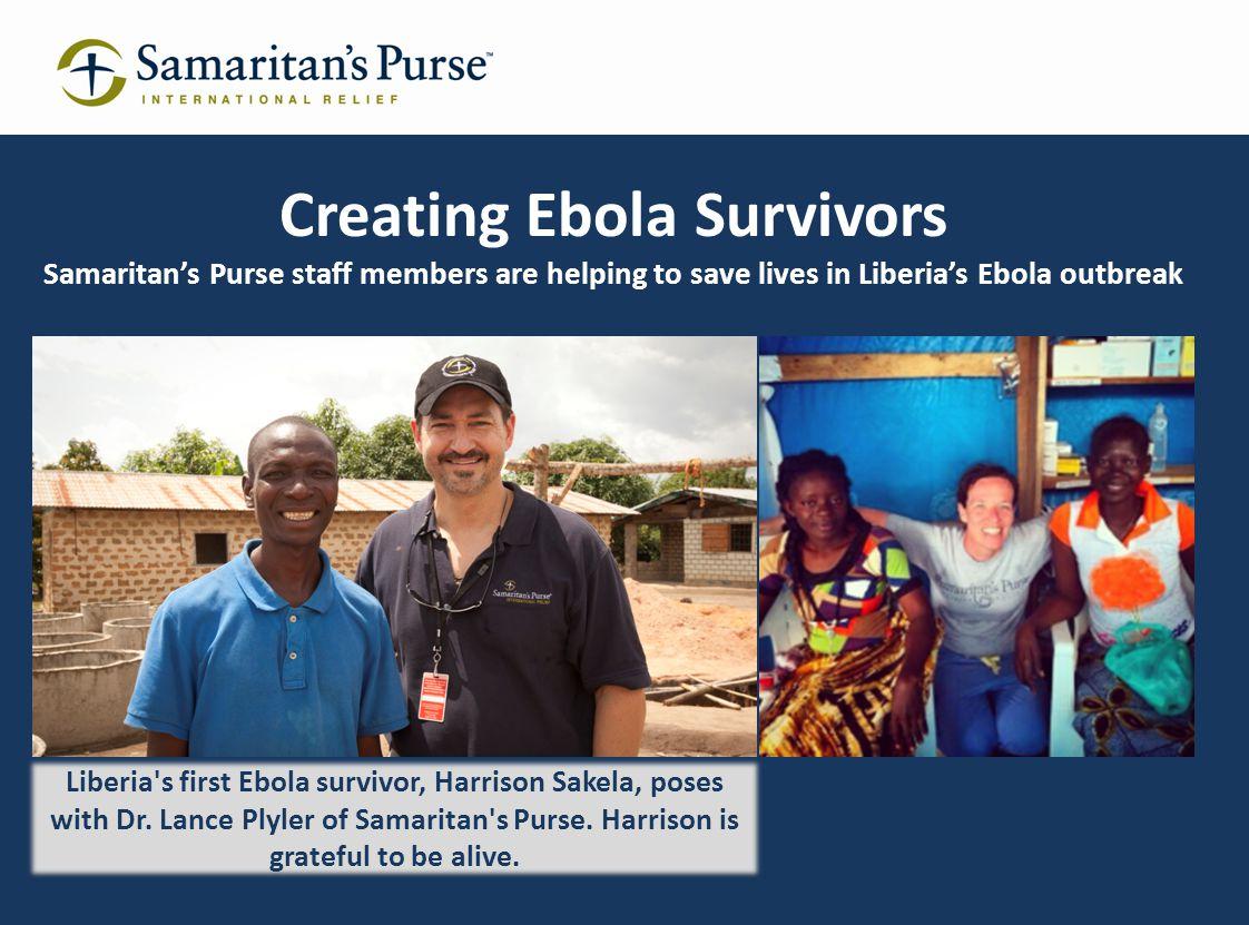 Creating Ebola Survivors