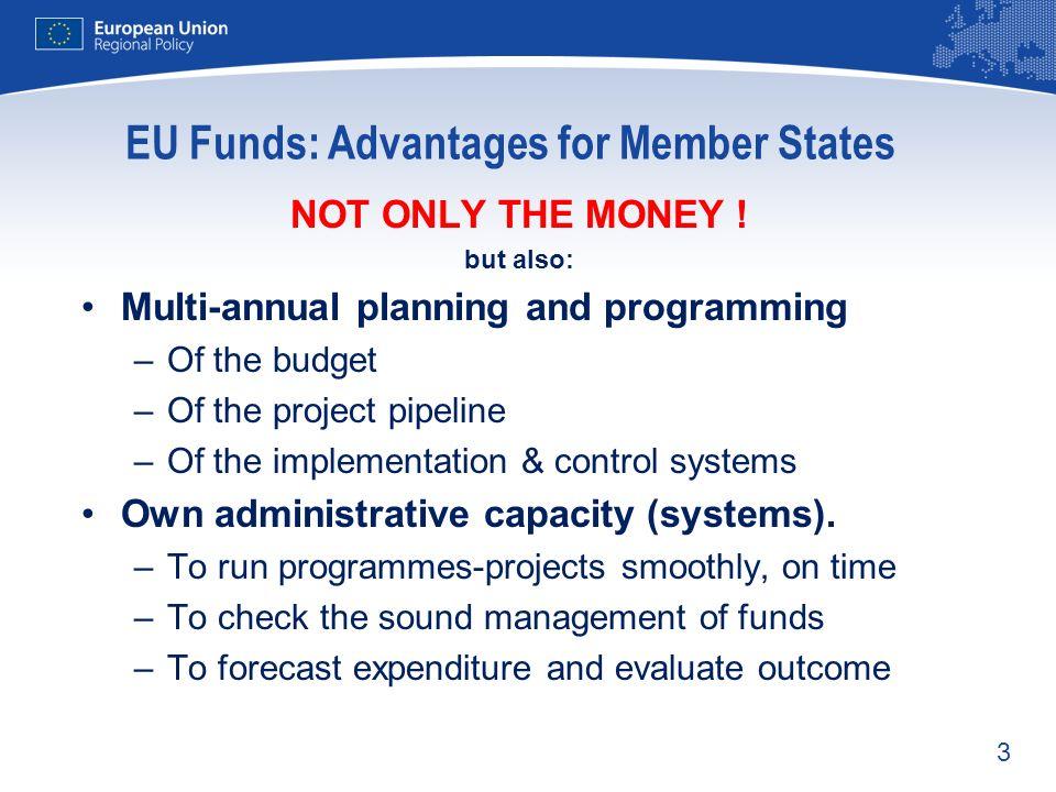 EU Funds: Advantages for Member States
