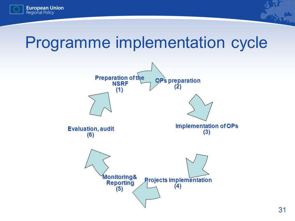 Programme implementation cycle