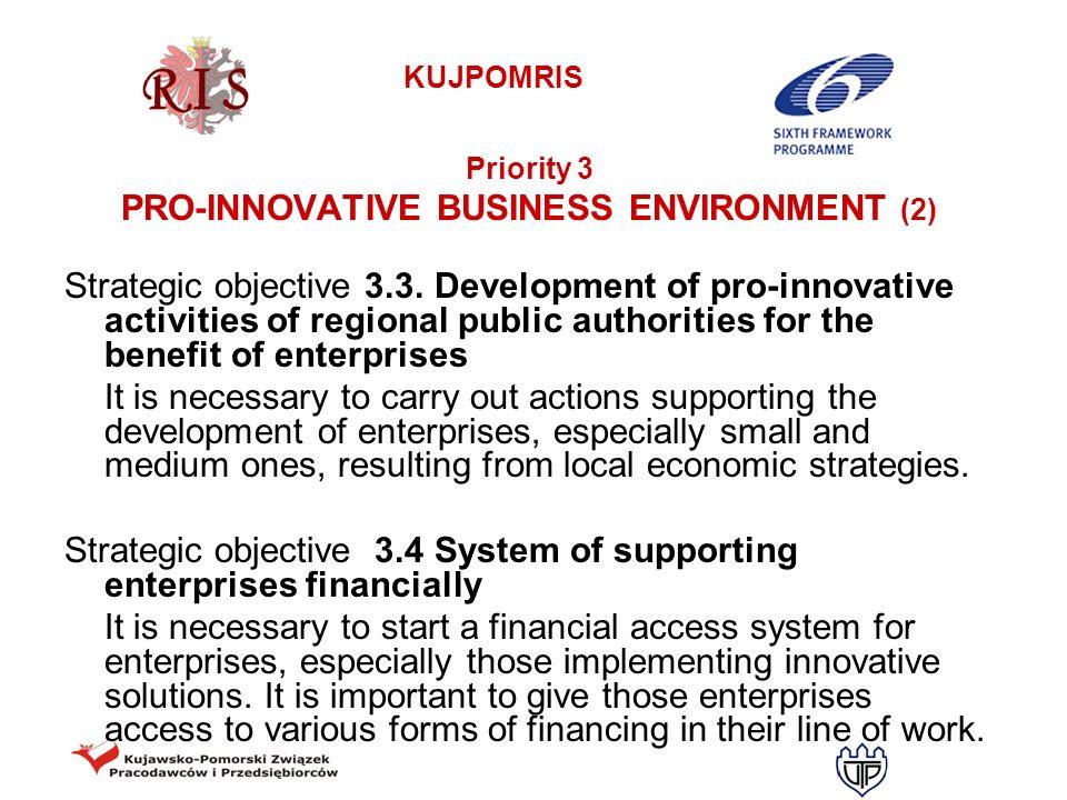 PRO-INNOVATIVE BUSINESS ENVIRONMENT (2)