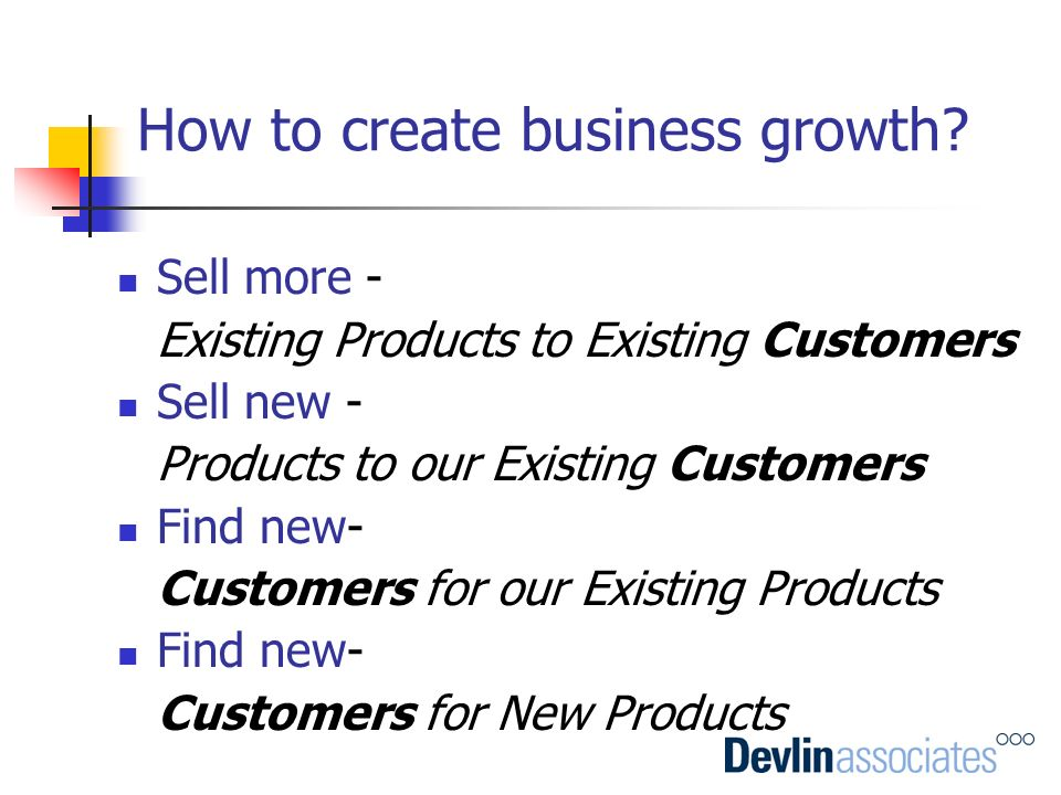 How to create business growth