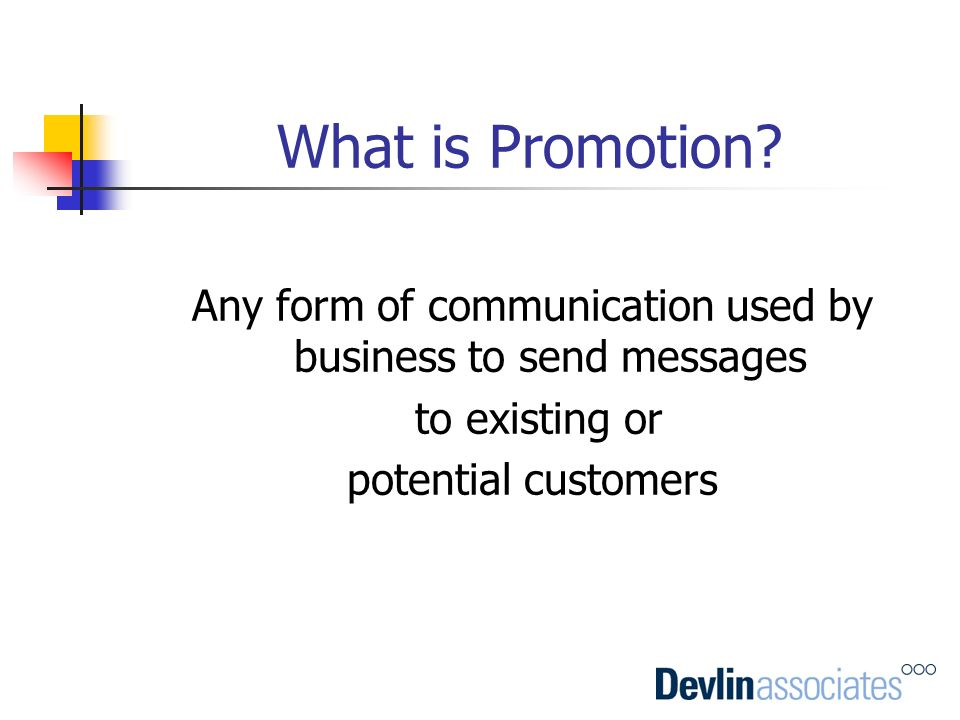 Any form of communication used by business to send messages